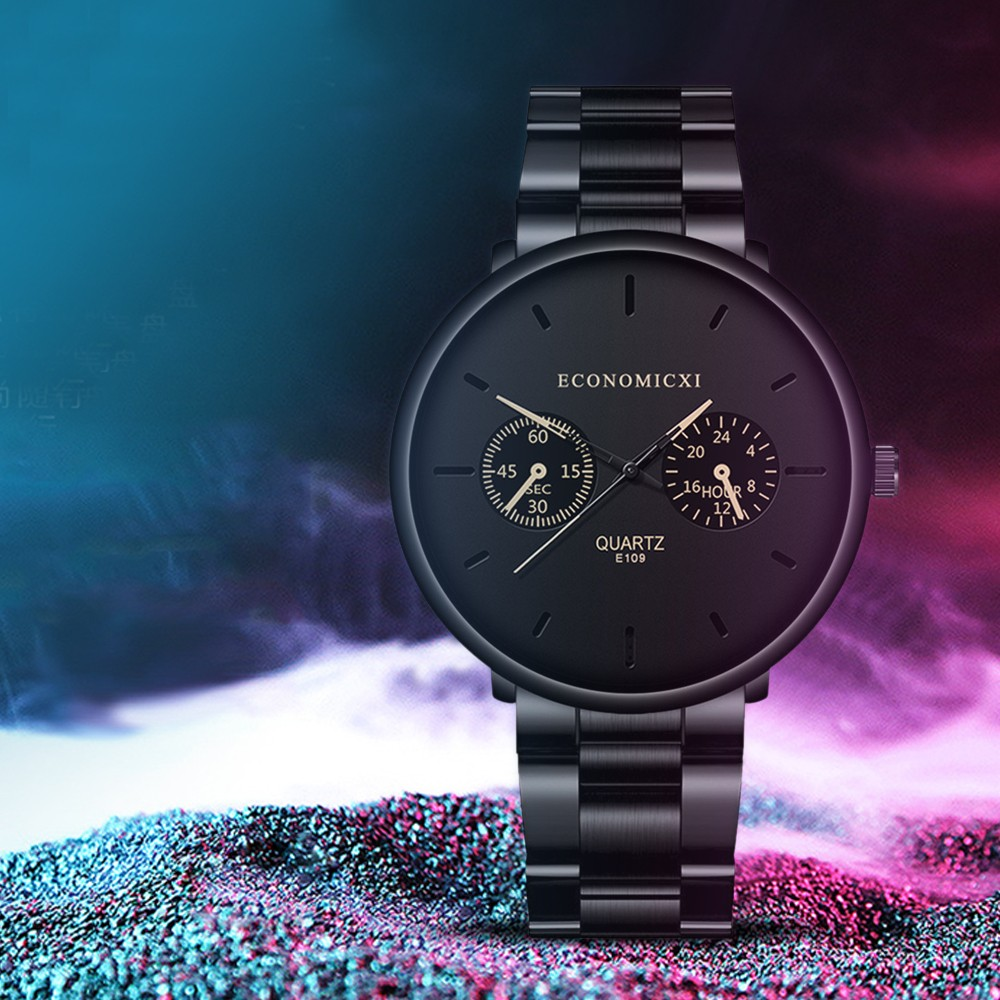 DUOBLA Watch Men Mens Watches Top Brand Luxury Watches Mens 2020 Wristwatch Quartz Watch Stainless Steel Clock Gifts For Men