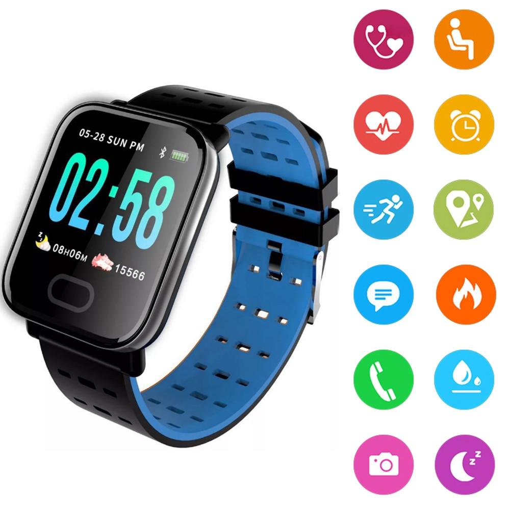 Portable Blood Pressure Watch Tonometer On Wrist Waterproof  Medical Equipment Measuring Pressure Bracelet Tracker Pedometer