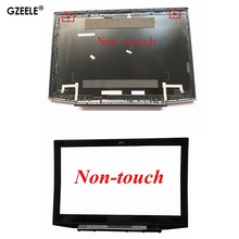 "GZEELE new FOR Lenovo Y50 Y50 70 Lcd Rear Lid Top Case Back Cover 15.6"" AM14R000400 Non Touch Lcd Front Bezel Cover"