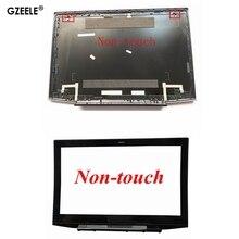 """GZEELE yeni Lenovo Y50 Y50 70 Lcd arka kapak üst kılıf arka kapak 15.6 """"AM14R000400 olmayan dokunmatik Lcd ön çerçeve kapak"""