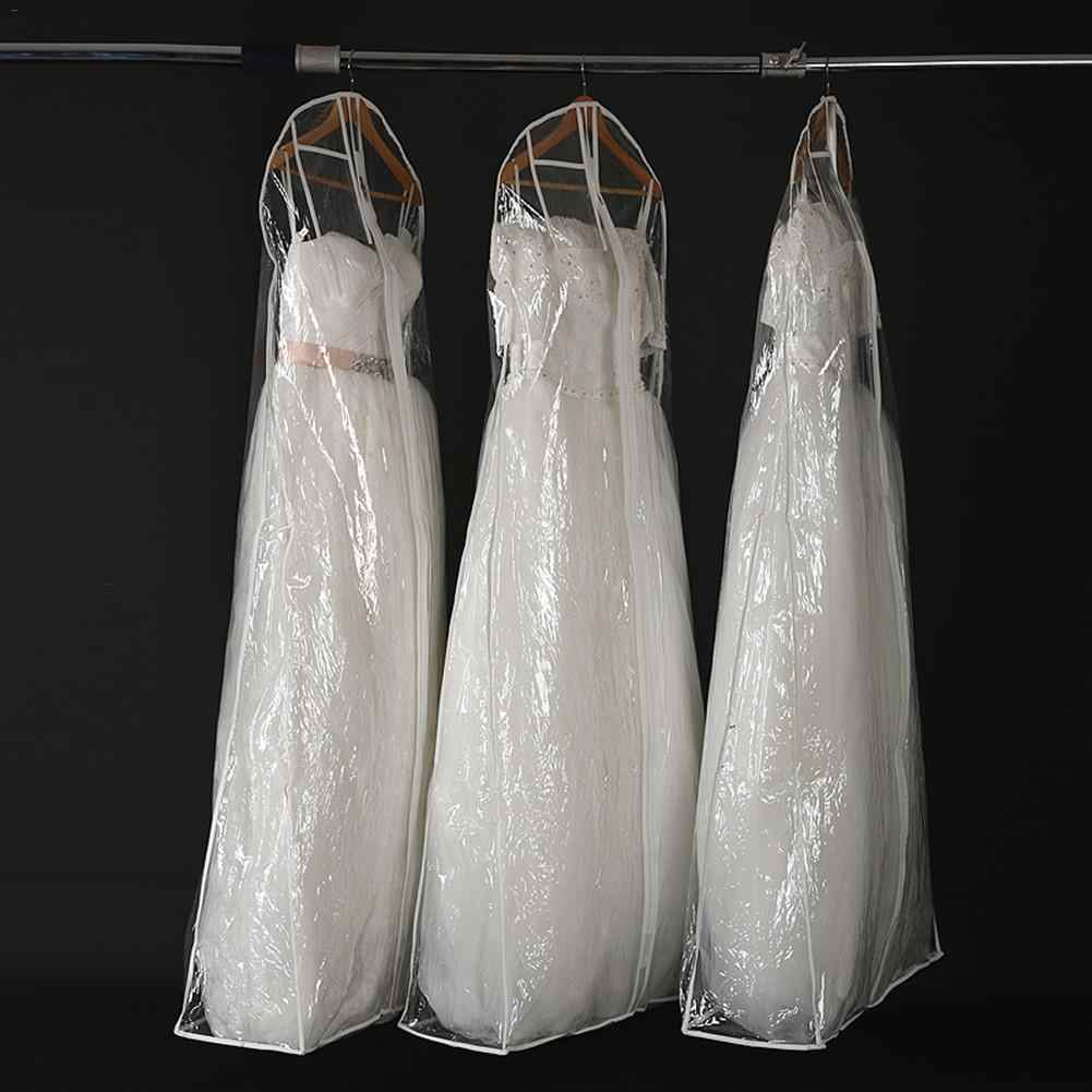 Transparent Garment Bag Bridal Gown Long Clothes Protector Case Plastic Wedding Dress Cover Dustproof Covers Dress Storage Bag Aliexpress,Wedding Dress From Dhgate Review