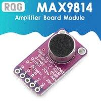 Módulo de placa amplificadora MAX9814, micrófono AGC, Control de ganancia automática para Arduino, relación programable de ataque y liberación, THD bajo
