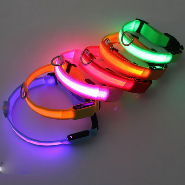 Night Time Safety Luminous Pet Collar with LED Flash- A Pets Alpha Pet Owner Pleaser ʕ•́ᴥ•̀ʔっ 3