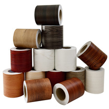 Wallpaper Waterproof Stickers Vinyl Home-Decor Wood-Grain Self-Adhesive Decal Baseboard