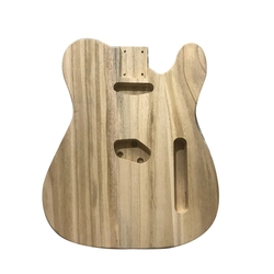 Hollowed Sanding Unfinished Handcraft Electric Bass Guitar Wood Body Barrel for Telecaster Style DIY Electric Guitar Body Parts