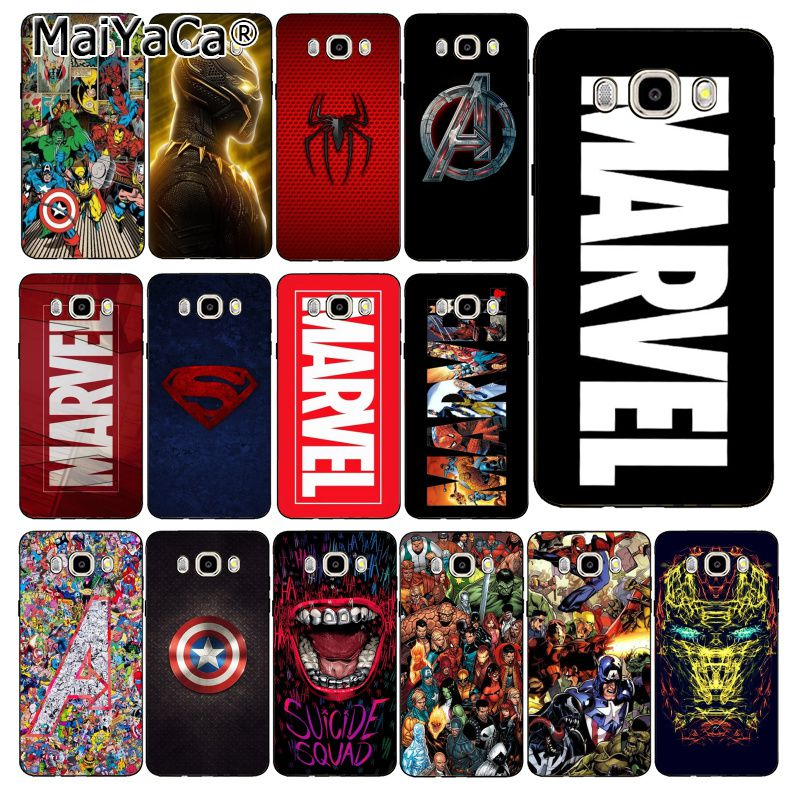 MaiYaCa <font><b>Marvel</b></font> Comics <font><b>logo</b></font> Coque Phone <font><b>Case</b></font> For <font><b>Samsung</b></font> <font><b>Galaxy</b></font> J7 J6 J8 J4 J4Plus J7 DUO J7NEO J2 J7 Prime image