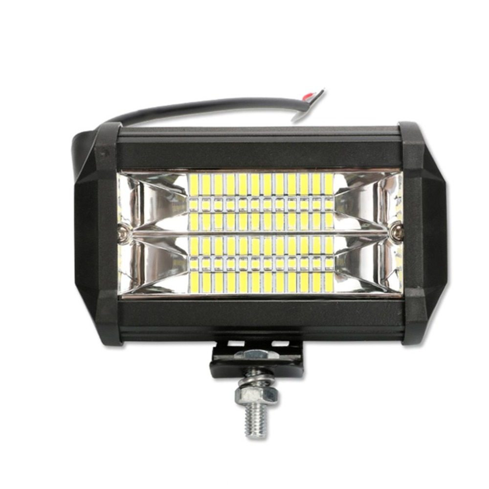 New Car Lights Cross-border For 5 Inch Led Double Row Long Strip Off-road Roof 72w Work Light