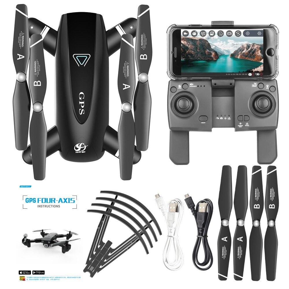 Drone 4k HD caméra GPS Drone 5G WiFi FPV 1080P pas de retour de Signal RC hélicoptère vol 20 Minutes quadrirotor Drone avec caméra - 6