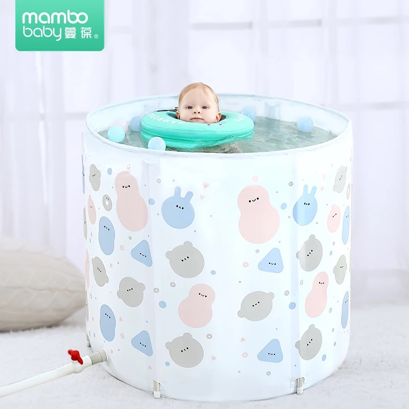 Outdoor Portable Baby Swimming Pool Not-inflatable Home Garden Pool Equipment Indoor Hydrotherapy Spa Swim Pool Bathtub
