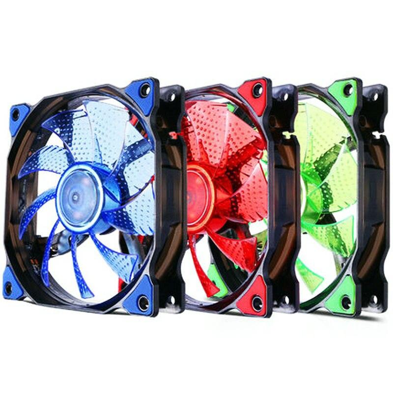 15 Lights12cm воды печенья банка с крышкой светодиодный строки устанавливать светодиодный вентилятор 120MMPC компьютерный корпус светодиодный бесшумный чехол вентилятор Радиатор охлаждения AC/DC 12V 3/4PIN|Кулеры/вентиляторы/системы охлаждения| | АлиЭкспресс