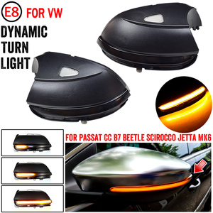 Image 2 - For Volkswagen VW Beetle A5 2011 2015 Car LED Dynamic Turn Signal Light Side Mirror Indicator Blinker Lamp