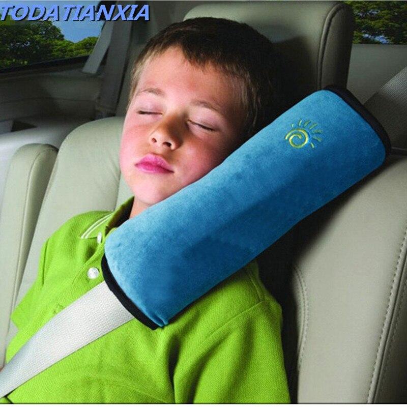 Baby Safety Strap Car Seat Belts Pillow Shoulder Pad FOR fiat 500 stilo ducato palio bravo doblo grande punto linea freemont