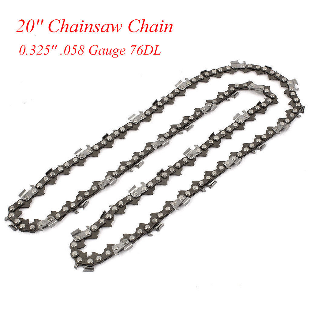 Chainsaw Saw Chain Blade Replacement For Husqvarna 16/18/20 Inch 56 Links HOT