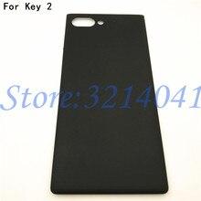 غطاء خلفي لجهاز Blackberry Keytwo Key 2 Key2 ، غطاء بطارية ، غطاء خلفي مع قطع غيار الشعار ، أصلي