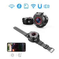 Wearable Magnetic Waterproof Mini Sports Watch Camera 1080P Ultra HD Portable Action Cam with Night Vision Wifi Video Recorder