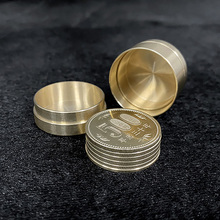 Dynamic Coins (Japan 500 Yen) Magic Tricks Magician Coin Disappearing Close Up Street Illusion Gimmick Mentalism Magia Toy Funny