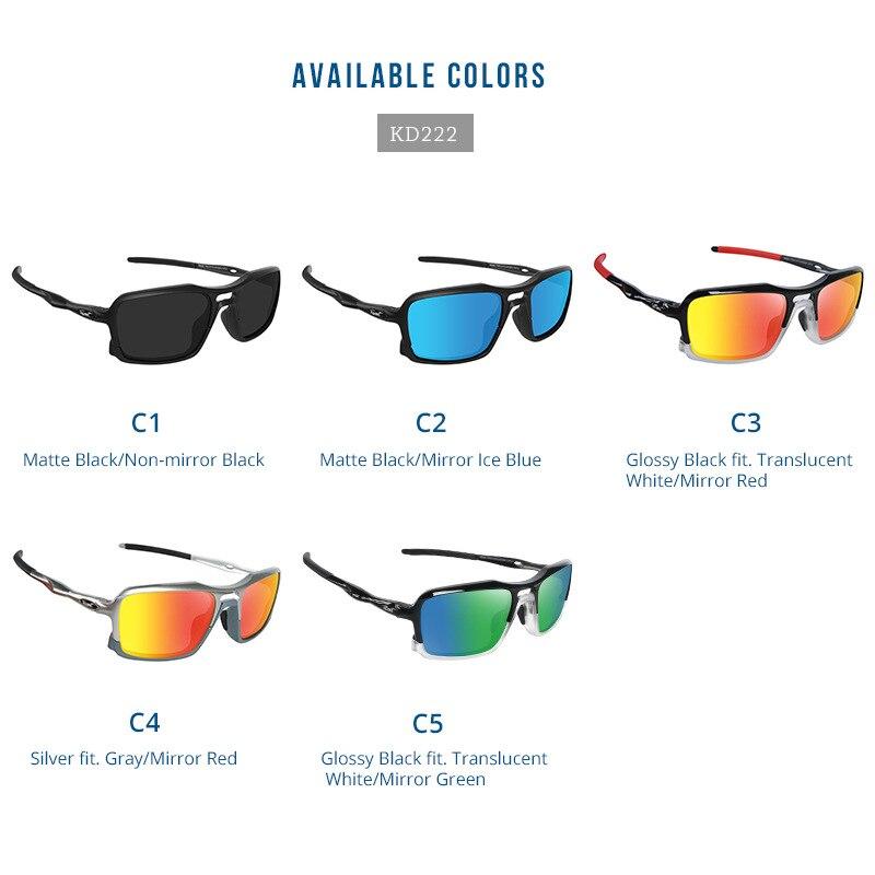 Купить мужские небьющиеся солнцезащитные очки kdeam поляризационные
