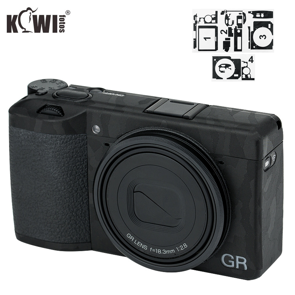 Anti-Scratch 3M Camera Body Skin Film Cover Protector for Ricoh GR II GRII GR2