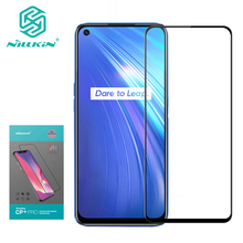 For Realme 6 Glass NILLKIN CP+ Pro Full Cover Anti-Explosion 9H Tempered Glass Screen