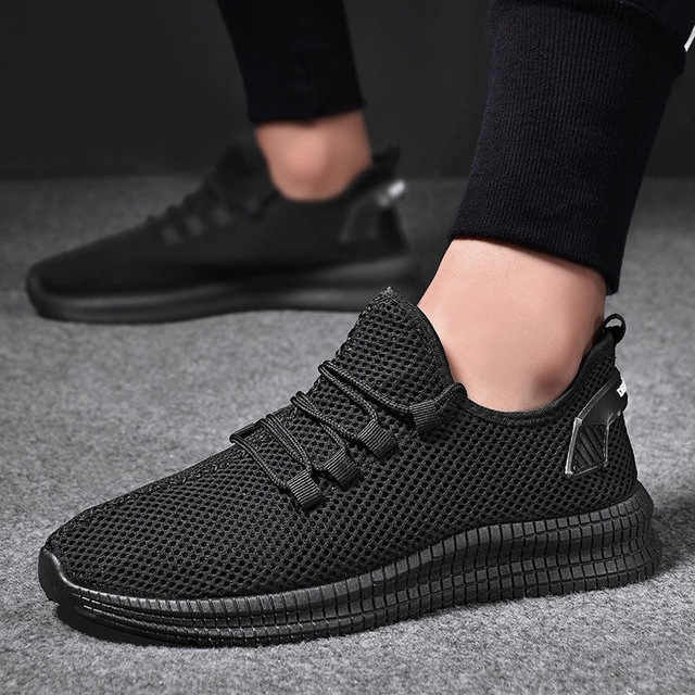 Fashion Men Sneakers Tenis Summer Autumn Lightweight  Breathable Male Footwear Shoes Men Lace Up Walking Casual Shoes B1353