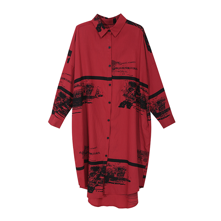 New Fashion Style Black Printed Midi Straight Dress Fashion Nova Clothing