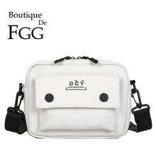 Boutique De FGG Canvas Small Satchels Women's Handbags and Purses Crossbody