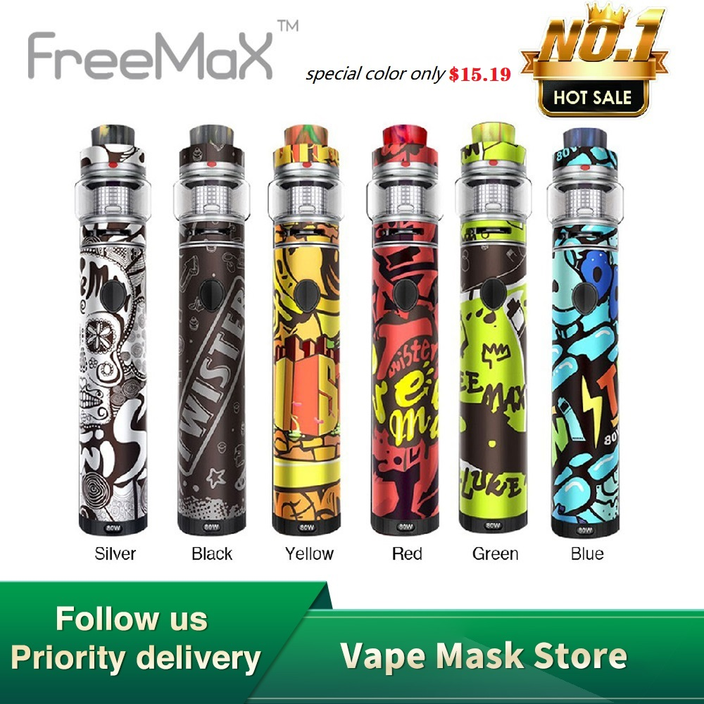 Hot Sale Original 80W Freemax Twister Kit With 2300mah Battery & Fireluke 2 Tank 2ml/5ml Pen Kit E Cigarette Vs Sky Solo/ Wand