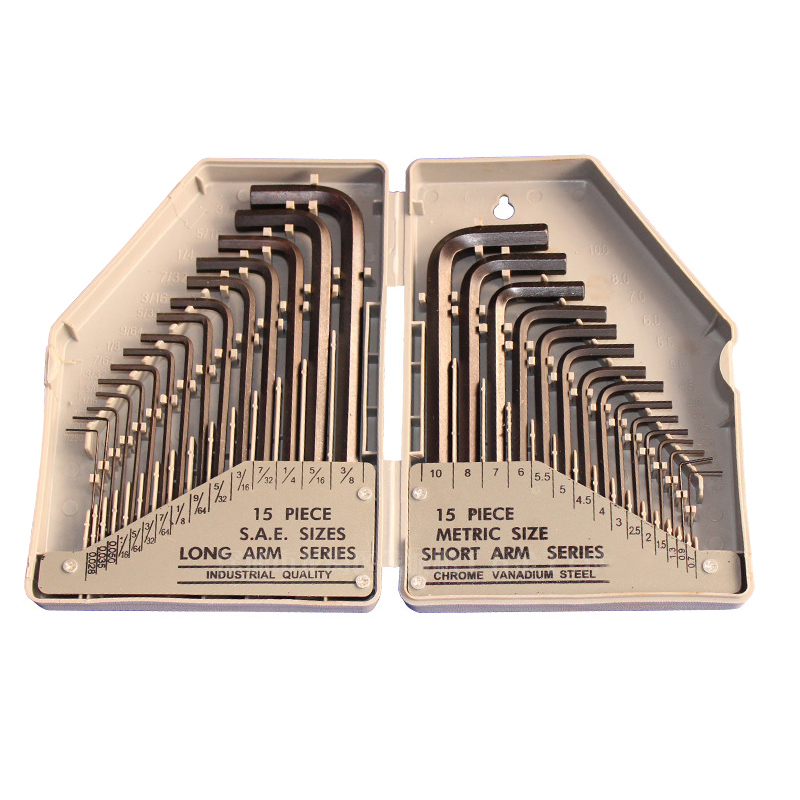 Allen Wrench Short Arm L Hex Key Alloy Steel Inch Sizes All Sizes /& QTYs
