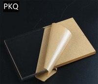 2pcs 30x40cm Acrylic Board Transparent Plexiglass Plastic Sheet Clear Organic Glass Doors Decor Thickness 2/3/4/5mm