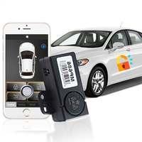 Araba alarm sistemi otomatik bagaj açma anahtarsız giriş sistemi otomatik indüksiyon araç kapı kilidi autostart merkezi kilitleme MP686|Hırsız Alarm|Otomobiller ve Motosikletler -