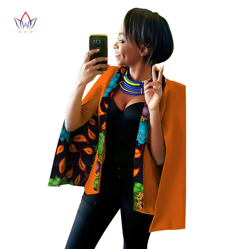 2020 Spring African Womens Clothing Dashikis African Clothing For Women Blazer Wax Plus Size Dashiki Women Tops Big Size WY838