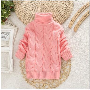 ChYoung Kinderpullover Winter Warm Kinderpullover Baby M/ädchen Pl/üsch Gestrickte Oberbekleidung Kleidung Kinder Tops