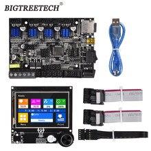 BIGTREETECH BTT SKR MINI MZ V1.0 32 Bit Board TFT35 MZ V3.0 Touch Screen 12864LCD Intergated TMC2209UART for Anycubic MEGA Zero