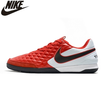 soccer shoes for men turf football boots child breathable cheap soccer cleats male football sneaker light mens soccer shoes Nike Tiempo Legend VIII Academy IC Soccer Shoes Football Boots Low Cleats Retro Football Cheap Size Indoor Soccer Shoes For Men
