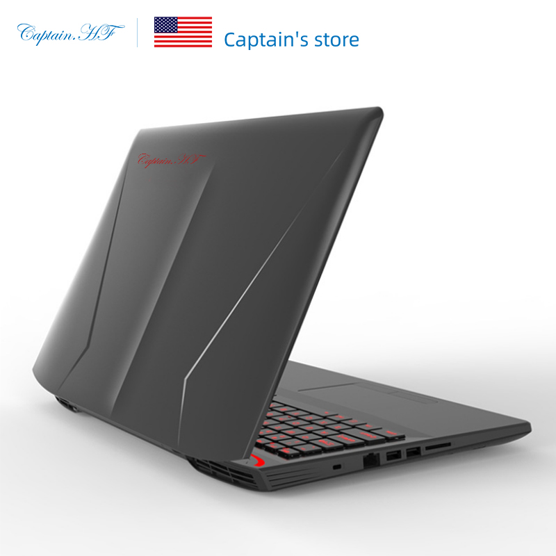 US Captain HF 15.6 Inch Gaming Laptop Intel Core I7-6700HQ Notebook Game GTX1060  Windows 10 8GB RAM 128GB SSD+1TB HDD