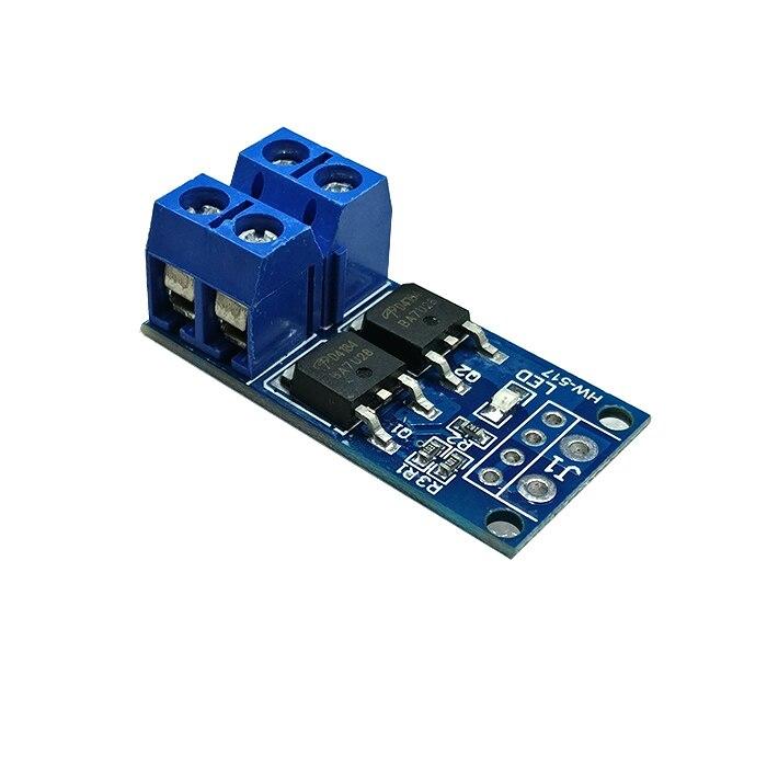 Módulo de placa de controle eletrônico de regulação pwm pwm do painel de acionamento do interruptor do disparador do transistor do campo-efeito do tubo mos de alta potência