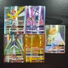 TAKARA TOMYBattle Shining Card Deck Board Game Children Toys 60 Flash Cards GX MEGA Pokemon Cards Collections