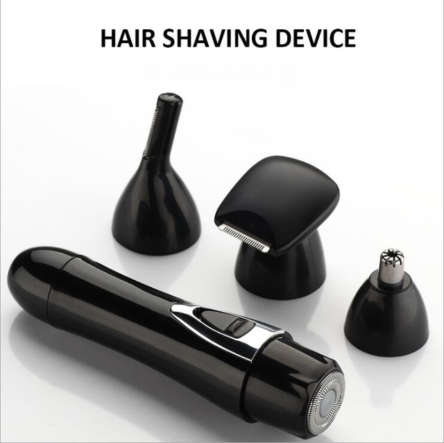 Electric Lady Shaver Epilator Hair Clipper Nose Hairbrow Eyebrow Knife Multifunction 4-in-1 Set 1