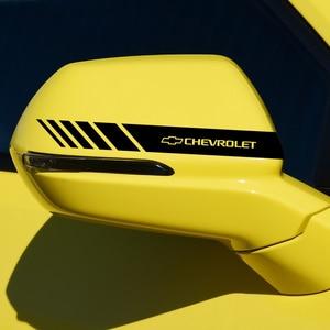 Image 4 - 2x רכב דקור מדבקת מראה אחורית עבור שברולט Cruze Lacetti קפטיבה SS Z71 אקווינוקס Trax קמארו סוניק אימפלה מפרש aveo