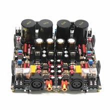2020 LM3886 XRL لوحة مكبر كهربائي متوازن تماما 120 واط + 120 واط HiFi ستيريو 2 قناة المجلس النهائي