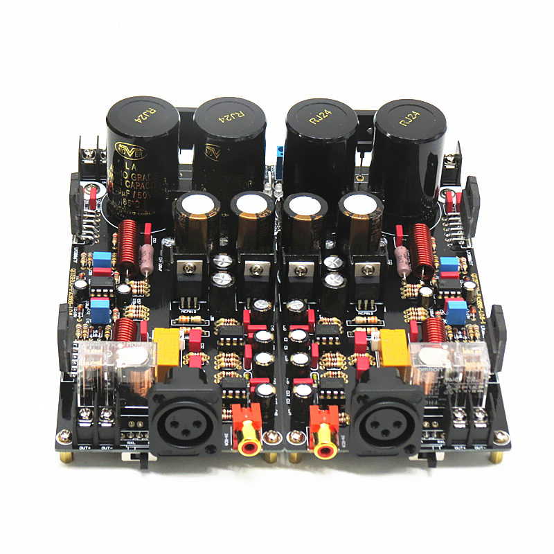 2020 LM3886 XRL Fully Balanced Power <font><b>Amplifier</b></font> Board 120W+120W <font><b>HiFi</b></font> Stereo 2-channel Finished Board image