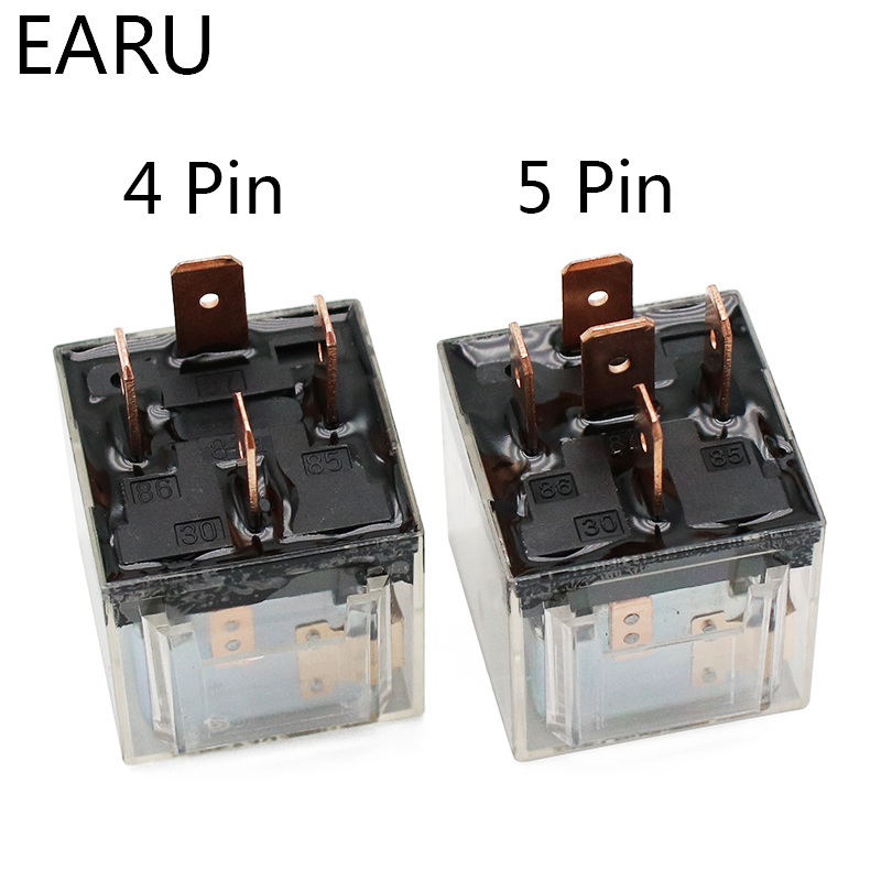 H9e12699ddbc6498f9d05f63254f56fb20 - 1pcs Waterproof Automotive Relay 12V 100A 5Pin SPDT Car Control Device Car Relays DC 24V High Capacity Switching