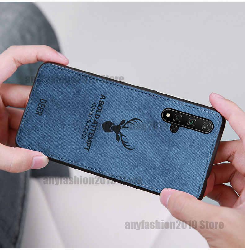 Điện Thoại Vải Dành Cho Huawei Nova 5 5I Pro Y9 Y7Pro P Thông Minh 2019 Mate20 P20 P30 Pro Lite Bao danh Dự 9X 8C 9 10 Lite 20 Ốp Lưng