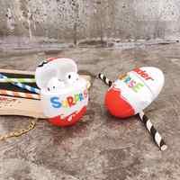 Heißer kinder spaß eier Drahtlose Bluetooth Kopfhörer Fall Für AirPods 2 1 Schokolade überraschung Box 3D weiche Silikon Headset coque abdeckung
