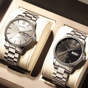 Image 3 - CADISEN zegarek męski automatyczne zegarki mechaniczne japonia NH36A rola data tydzień Top luksusowa marka zegarek na rękę zegar Relogio Masculino