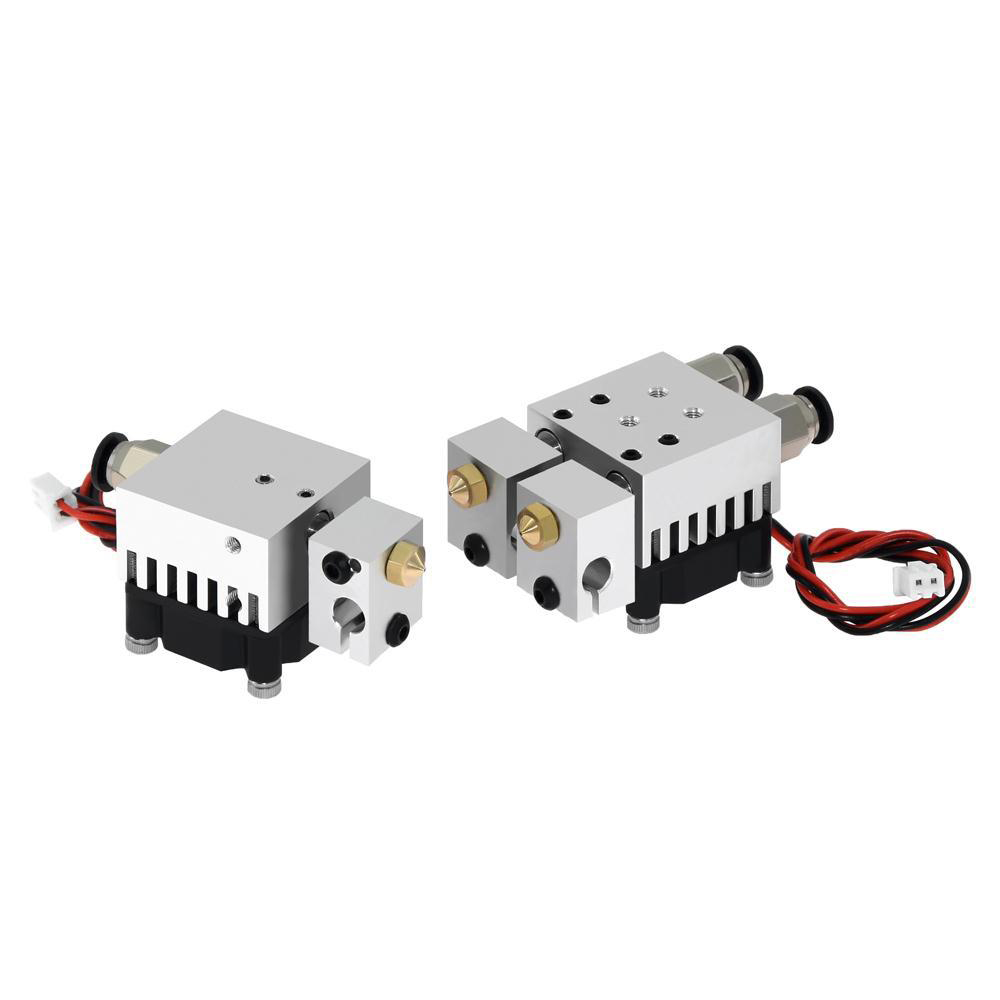 3D Chimera Hotend Kit 2 IN 2 OUT extruder Multi-extrusion All metal V6 Dual Single extruder 0 4mm 1 75mm 3D printer parts
