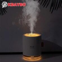 KBAYBO humidificador de aire de escritorio, difusor ultrasónico de aceite esencial de aromaterapia, pulverizador aromático portátil para el hogar y la Oficina, 500ML