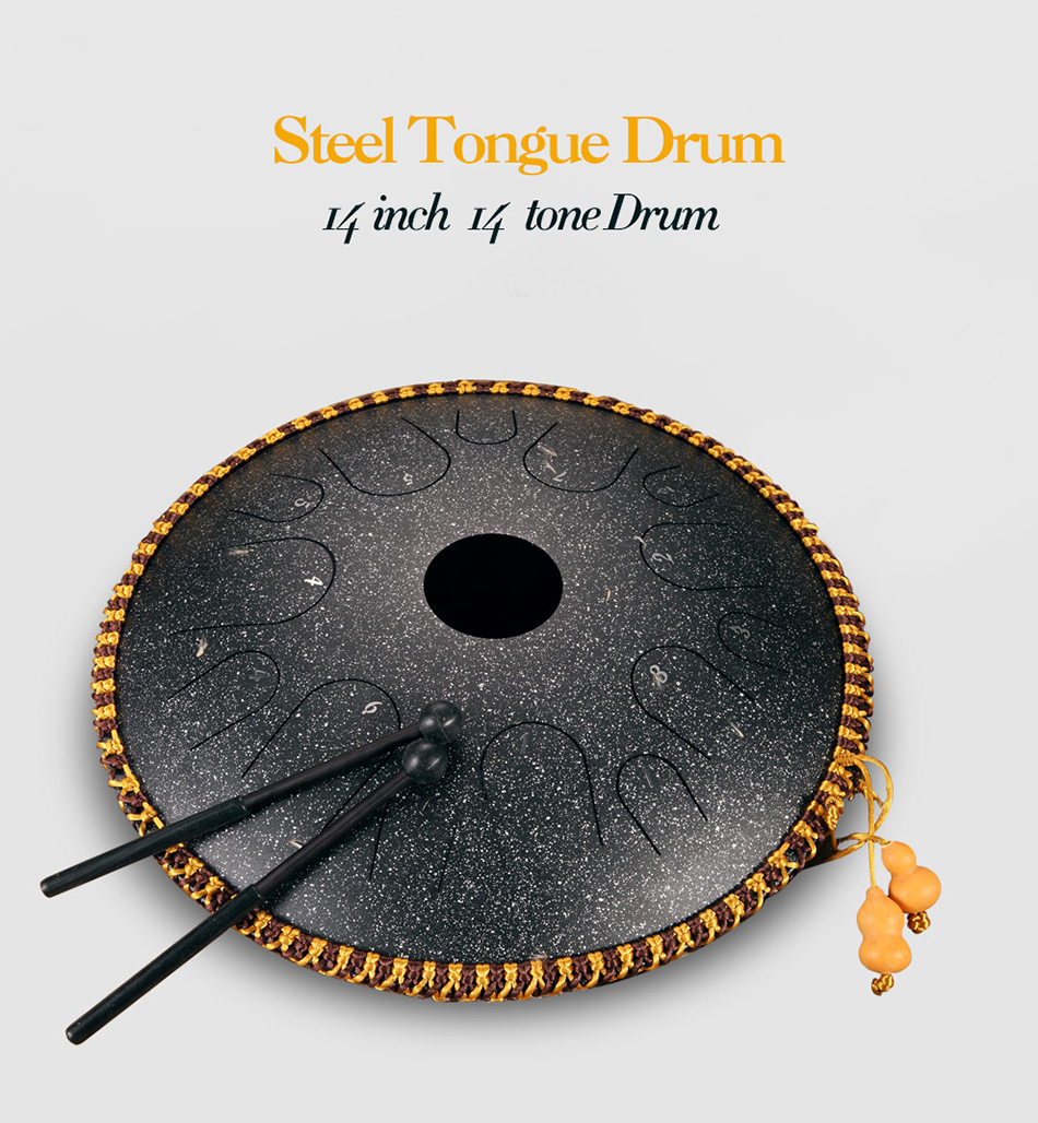 tambor handheld tanque tambor instrumento de percussão