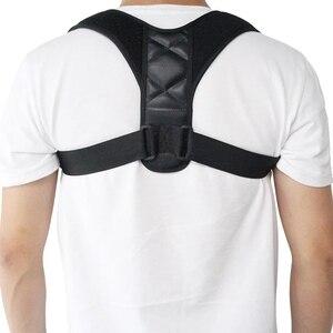 Image 1 - החדש יציבת מתקן ותמיכה חזרה Brace עצם הבריח בחזרה סד מתקן לנשים וגברים