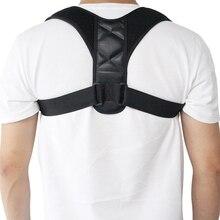 Corrector de postura y soporte de espalda, soporte de clavícula tirantes para espalda, unisex